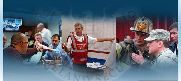 Homeland Security - disaster relief.