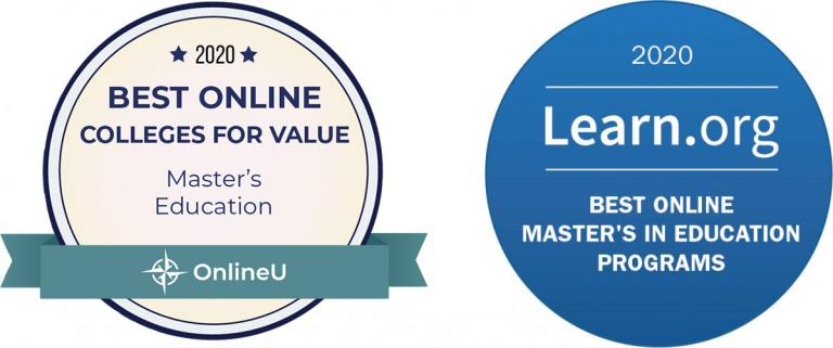 Awards for best online Masters programs in Education