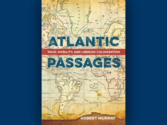 Cover of Assistant Professor Robert Murray's book