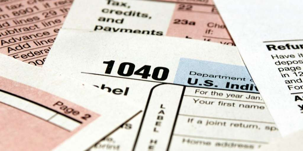 Tax forms used by a Taxation Accountant.