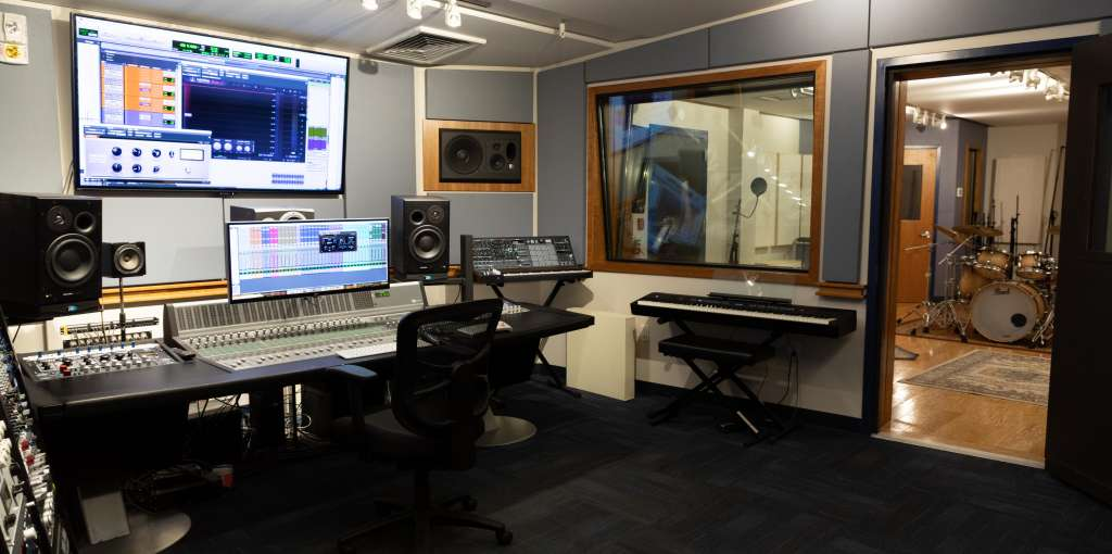Mercy's music production Studio A.